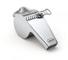 A whistleblower's whistle