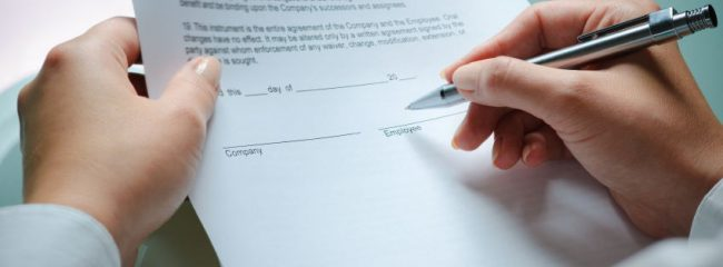 unsigned severance agreement