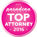 Pasadena Top Attorney 2016 - Lawyers